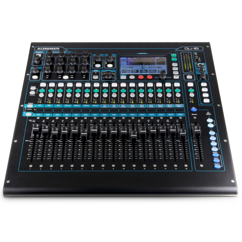 Allen & Heath QU-16 Chrome Digital Mixing Console.