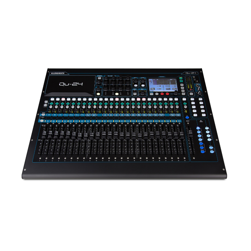 Allen & Heath QU-24 Digital Mixing Console.