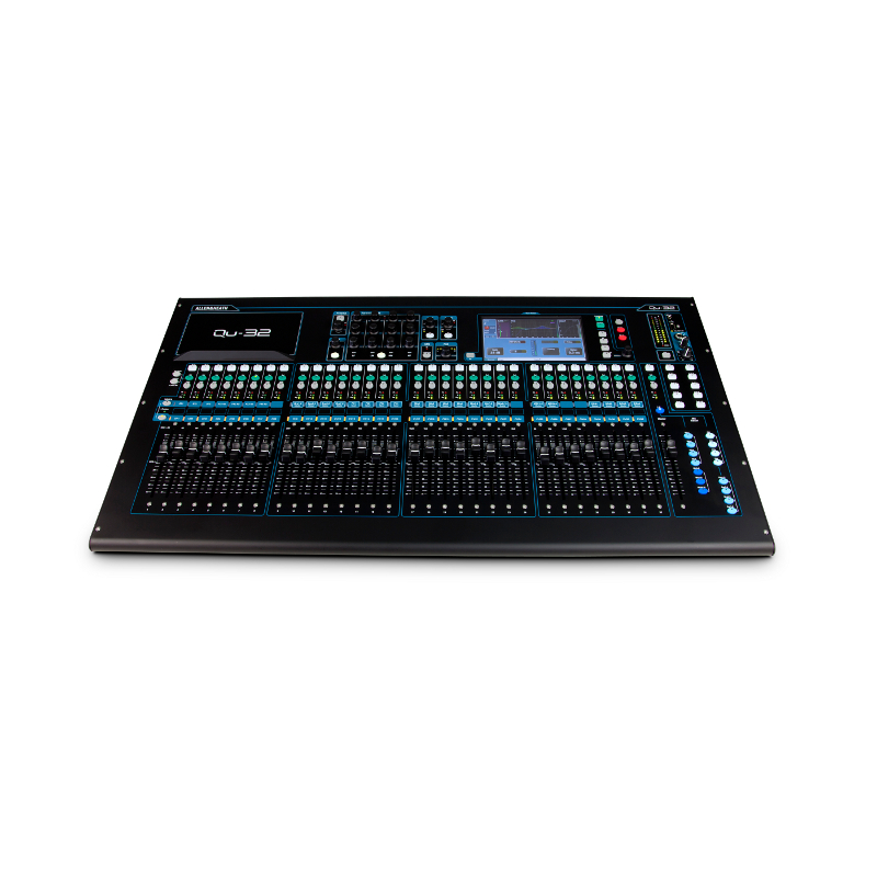 Allen & Heath QU-32 Digital Mixing Console.