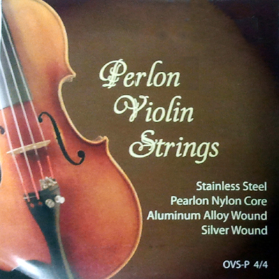 Perlon Violin Strings.