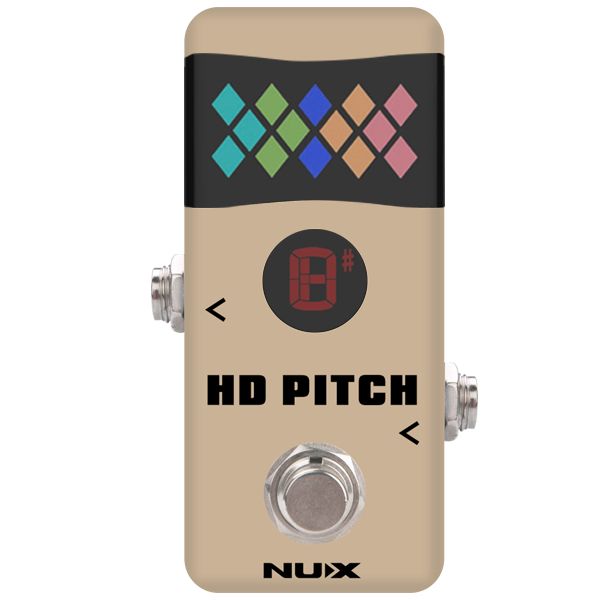 Nux Mini Core HD Pitch Tuner Pedal.