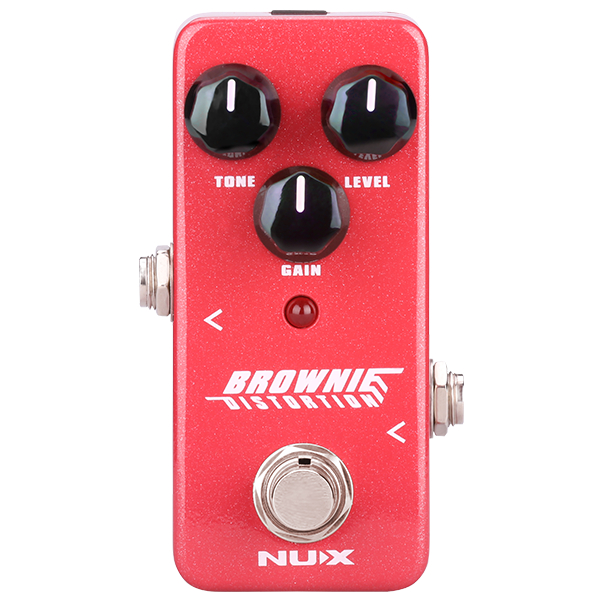 Nux Mini Core Brownie Distortion Pedal.