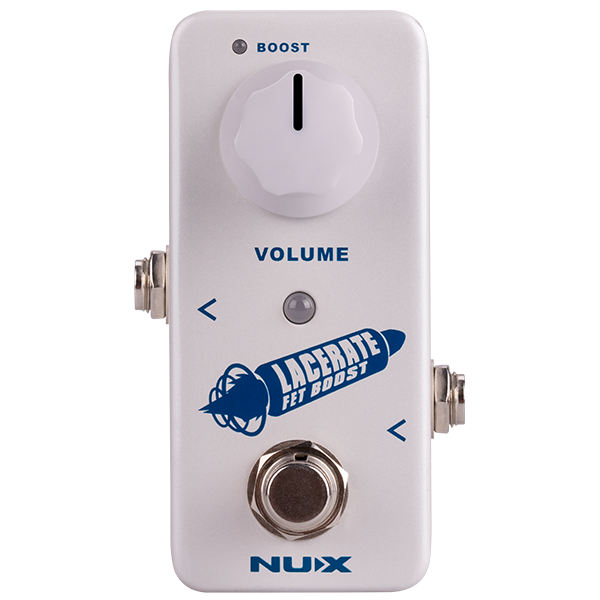 Nux Mini Core Laceret FET Boost Pedal.