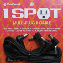 Visual Sound 1 SPOT Multi Plug 8 Cable 8-plug daisy chain.