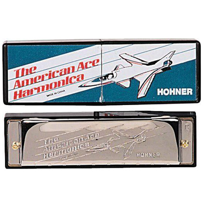 Hohner American Ace Harmonica.