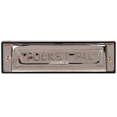 Hohner Pocket Pal Harmonica.