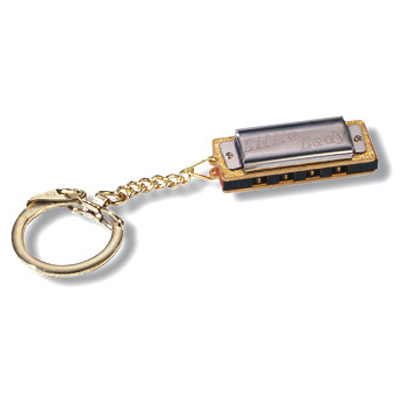 Hohner Little Lady Keychain Harmonica.