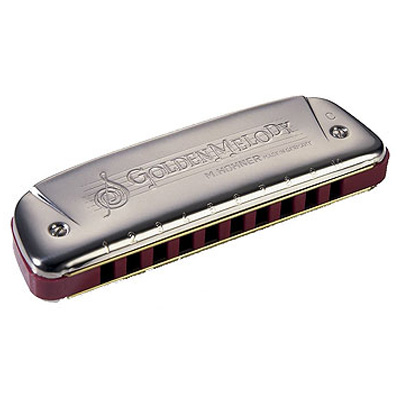 Hohner Golden Melody Harmonica.
