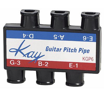 Guitar pitch pipe.