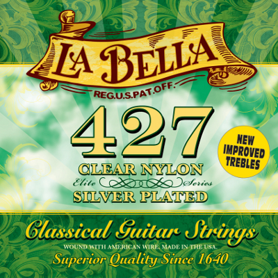 La Bella 427 Pacesetter Elite Guitar Strings.