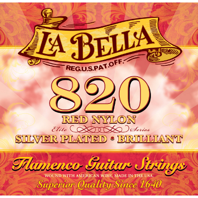 La Bella 820 Flamenco Guitar Strings.