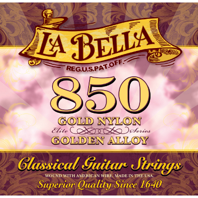 La Bella 850 Concert Guitar Strings.