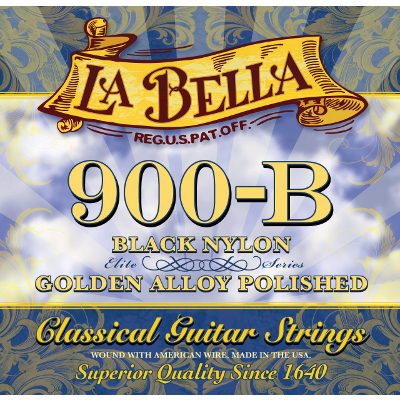 La Bella 900B Golden Superior Guitar Strings.