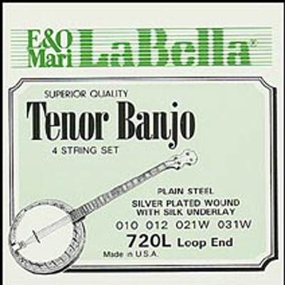 La Bella Light Tenor Banjo Strings.