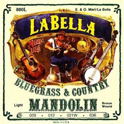 La Bella Light Phos Bronze Mandolin Strings.