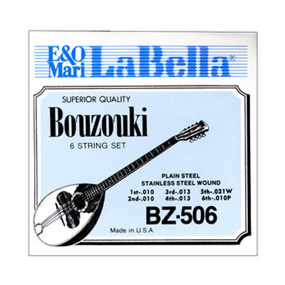 La Bella 6 String Bouzouki Strings.