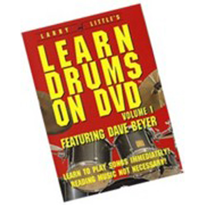 Larry Little Learn Drums on DVD.