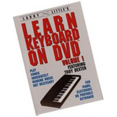 Larry Little Learn Keyboard on DVD.