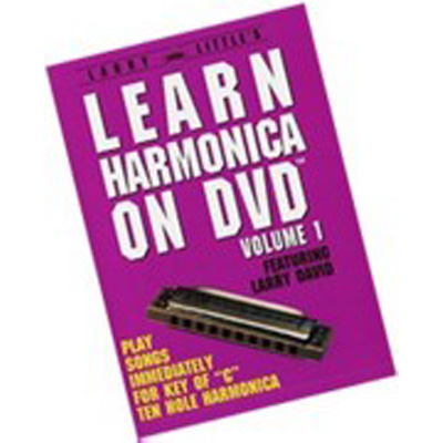Larry Little Learn Harmonica on DVD.