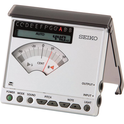 Seiko chromatic manual/automatic tuner.