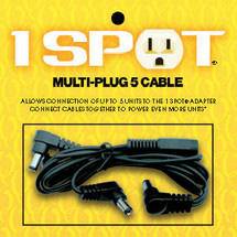 Visual Sound 1 SPOT Multi Plug 5 Cable 5-plug daisy chain.