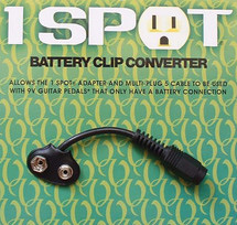 Visual Sound 1 SPOT Battery Clip Converter.