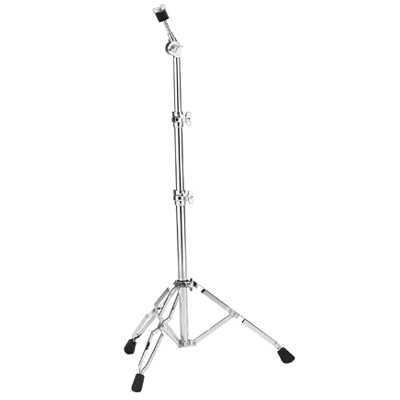 Heavy duty straight cymbal stand.