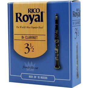 Rico Royal Bb Clarinet Reeds Box Of 10.