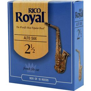 Rico Royal Alto Sax Reeds box of 10.