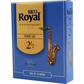 Rico Royal Tenor Sax Reeds Box Of 10.