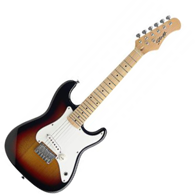 Strat Style 1/2 Size Electric Guitar.
