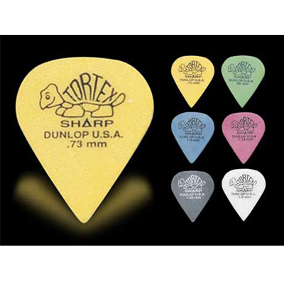 Dunlop Tortex Sharp guitar picks