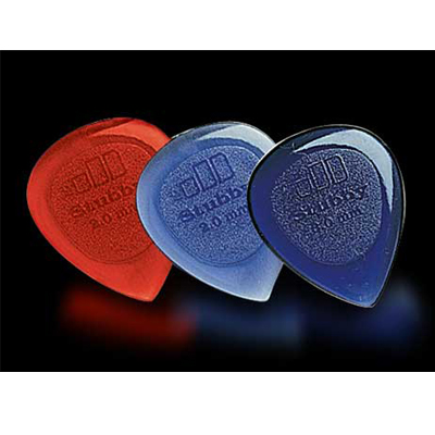 Dunlop Stubby guitar picks.