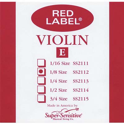 Red Label Violin E String.