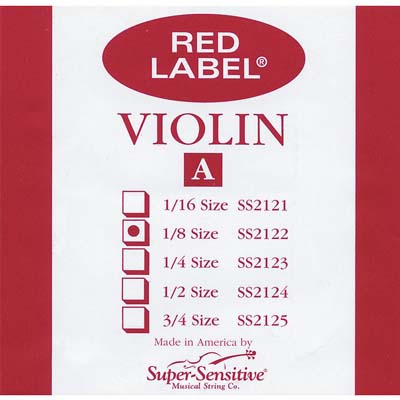 Red Label Violin A String.