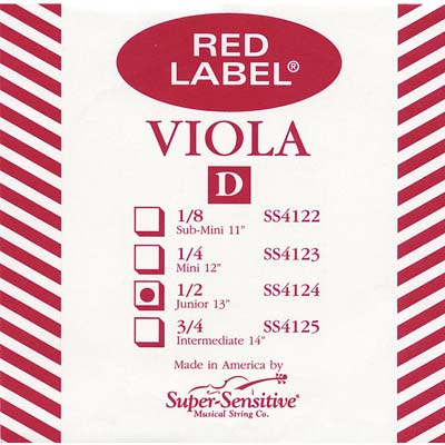 Red Label Viola D String