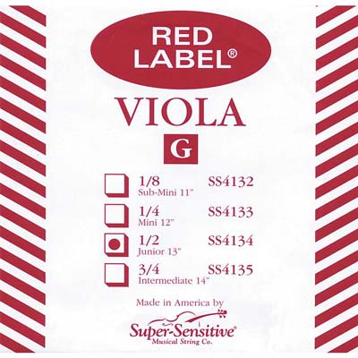 Red Label Viola G String