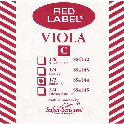 Red Label Viola C String