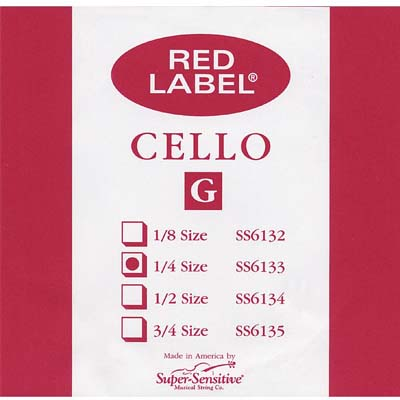 Red Label Cello G String.