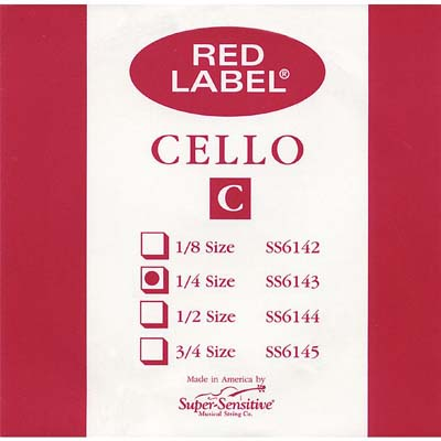 Red Label Cello C String.