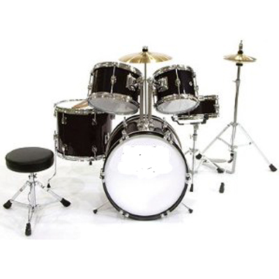 5 Piece Junior Drumset.