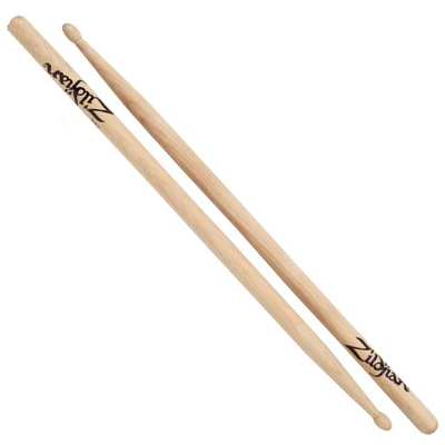 Zildjian Natural Hickory Drumsticks.