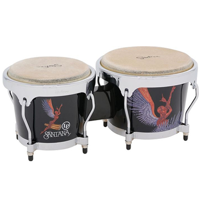 LP Aspire Santana Wood Bongos.