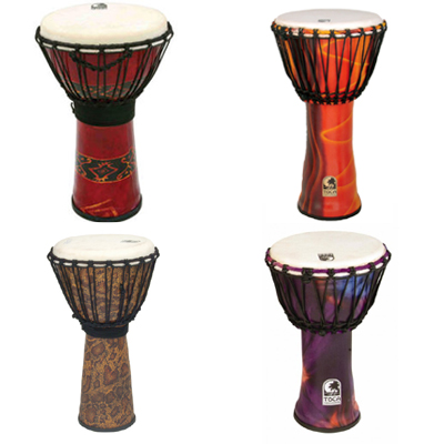 "Toca Freestyle 9"" Djembe."