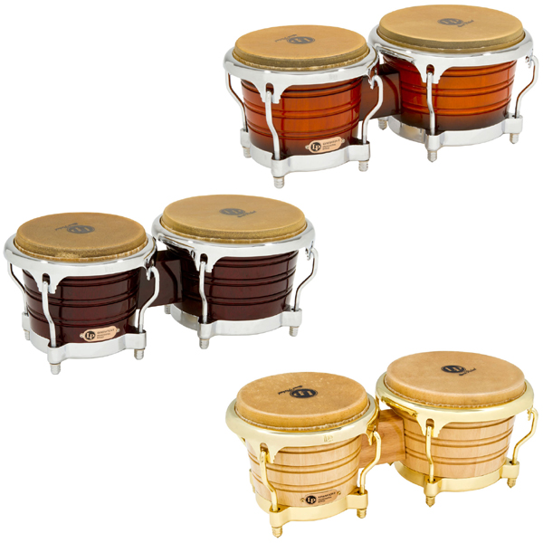 LP Generation II Wood Bongos.