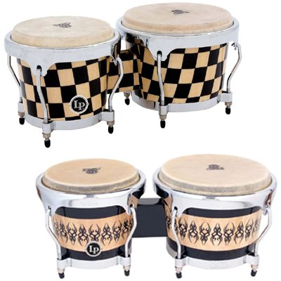 LP Aspire Accents Wood Bongos.