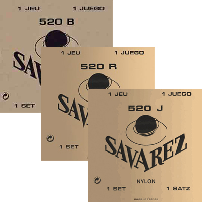 Savarez Classical Guitar Strings.