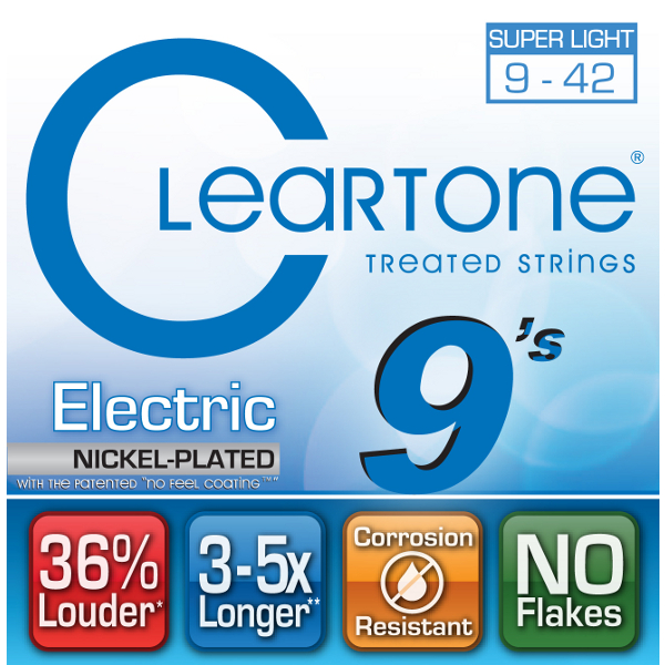 Cleartone Nickel Plated Electric Strings.