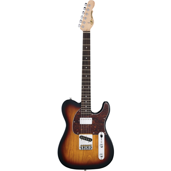 G&L Tribute ASAT Classic Bluesboy In 3-Tone Sunburst.