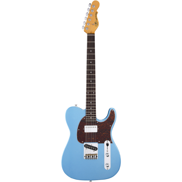 G&L Tribute ASAT Classic Bluesboy In Lake Placid Blue.